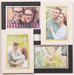 Рамка-коллаж на 4 фото 10х15 см.