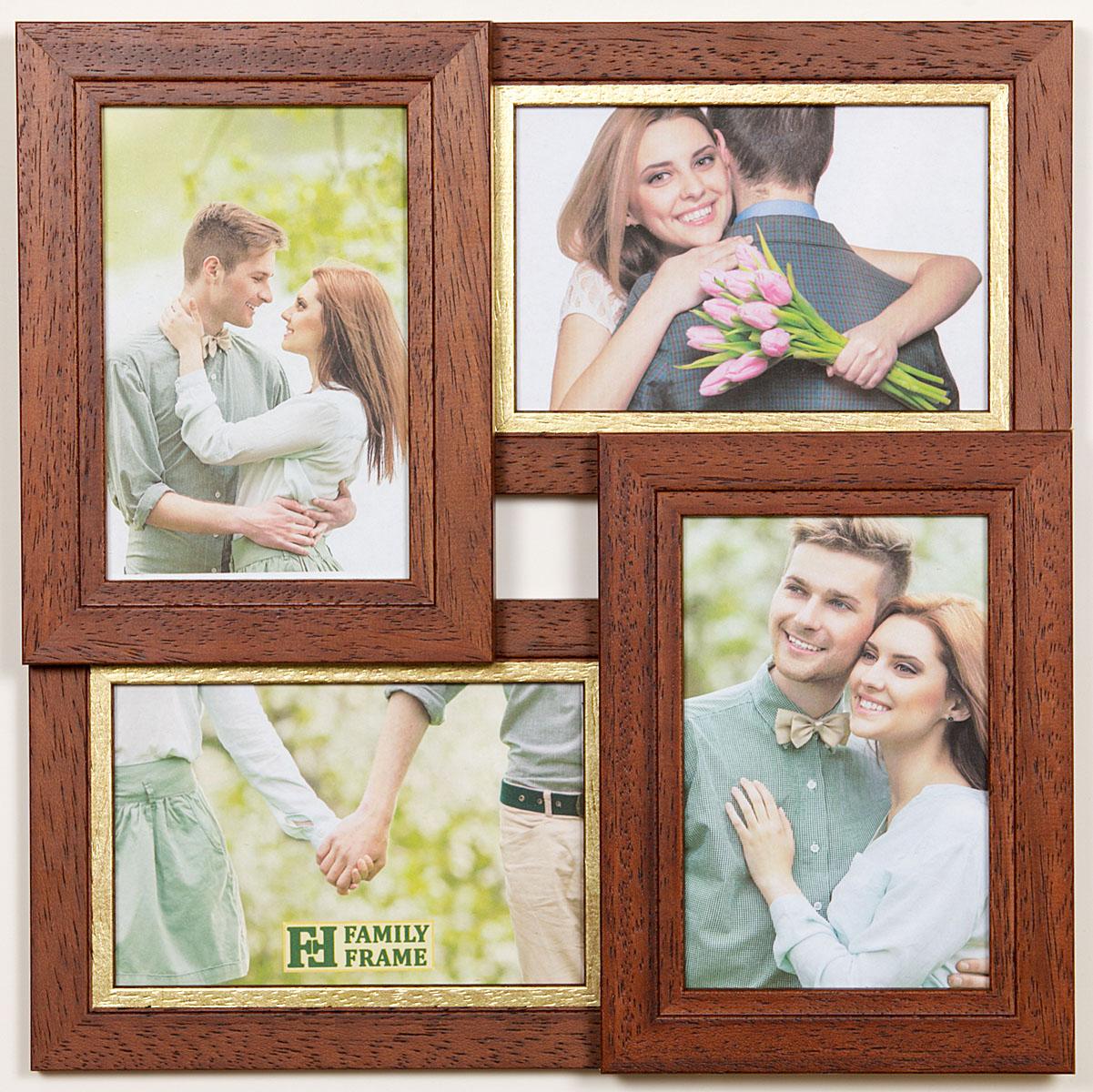 Как сделать фото на 4 рамки