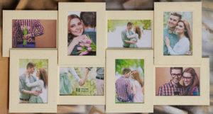 Рамка-коллаж на 8 фото 10х15 см.
