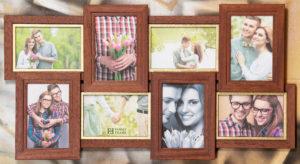 Рамка-коллаж на 8 фото 10х15 см