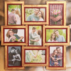 Рамка-коллаж на 9 фото 10х15 см.