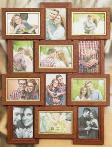 Рамка-коллаж на 12 фото 10х15 см.