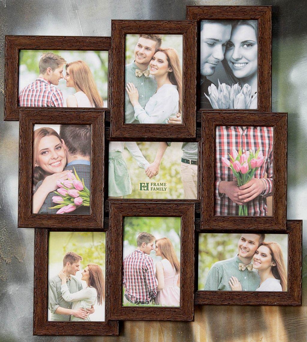 Как сделать фотоколлаж из 9 фото