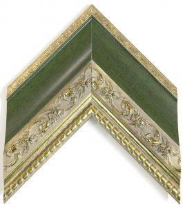 зеленый багет